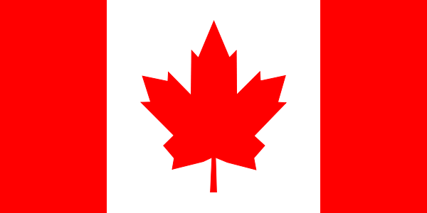 Imagem bandeira Canadá